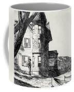 House By A River Coffee Mug by Edward Hopper