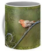 House Finch On Guard IIi Coffee Mug
