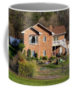 House From The Highest Point Coffee Mug
