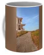 House On Rural Dirt Road Coffee Mug