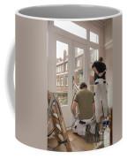 House Painters At Work Coffee Mug