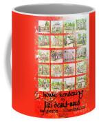 House Rendering Card Coffee Mug