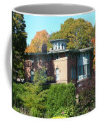House Surrounded By Autumn Coffee Mug