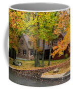 House Surrounded With Colors Coffee Mug