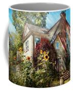 House - Westfield Nj - The Summer Retreat  Coffee Mug by Mike Savad