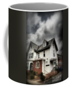 House With Brick Front - American Gothic Coffee Mug