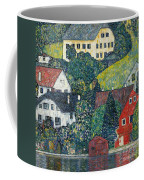 Houses At Unterach On The Attersee Coffee Mug