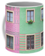 Houses From The Outside Coffee Mug