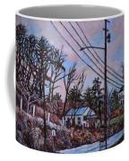 Houses In Pulaski Coffee Mug