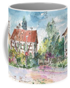 Houses In Soufflenheim Coffee Mug