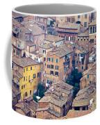 Houses Of Old City Of Siena - Tuscany - Italy - Europe Coffee Mug