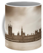 Houses Of Parliament And Elizabeth Tower In London Coffee Mug