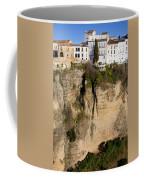 Houses On Rock In Ronda Coffee Mug