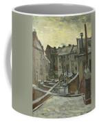 Houses Seen From The Back Coffee Mug