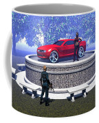 How Did You Get That Car Up There? Coffee Mug