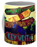 How Far Is It To Key West Coffee Mug