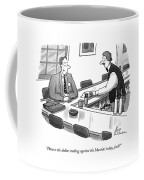 How Is The Dollar Trading Against The Martini Coffee Mug
