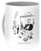 How Much For The Couch Without The Potato? Coffee Mug