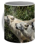 Howlin Artic Wolves Coffee Mug