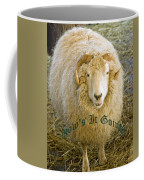 Hows It Going Old English Hunter Green Coffee Mug