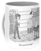 How's Your Book Coming? Coffee Mug