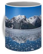 Hubbard Glacier Mountain Reflection Coffee Mug
