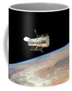 Hubble  Telescope  In  Orbit  Above  Earth Coffee Mug