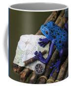 Huckleberry Frog II Coffee Mug