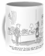 H.u.d. Called The F.a.a.  The F.a.a. Called Coffee Mug