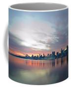 Hudson River Sunrise Nyc Coffee Mug