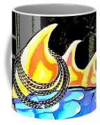 Hula Monster Fins Coffee Mug