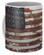 Hulbert Flag Early Us Flag 1776 Coffee Mug by Photo Researchers