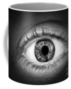 Human Eye Coffee Mug by Elena Elisseeva