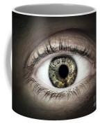 Human Eye Macro Coffee Mug