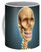 Human Skeleton Showing Teeth And Gums Coffee Mug by Stocktrek Images