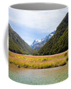 Humboldt Mountains Seen From Routeburn Track Nz Coffee Mug