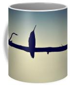 Humingbird At Sunset Coffee Mug