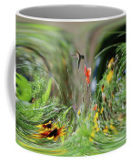 Humming Bird Digital Art Coffee Mug