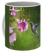 Hummingbird And Fuschia Coffee Mug