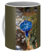 Hummingbird Drinking Crystal Coffee Mug