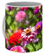 Hummingbird Flight Coffee Mug by Garry Gay