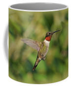 Hummingbird In Flight Coffee Mug