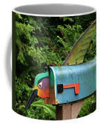 Hummingbird Mailbox Coffee Mug