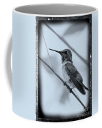Hummingbird With Old-fashioned Frame 1 Coffee Mug
