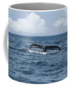 Humpback Whale Fin Coffee Mug