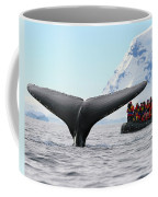 Humpback Whale Fluke  Coffee Mug by Tony Beck