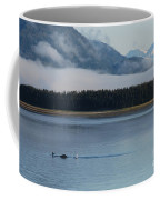 Humpback Whales And Alaskan Scenery Coffee Mug