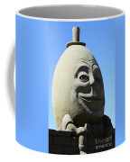 Humpty Dumpty Sand Sculpture Coffee Mug by Bob Christopher