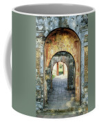 Hung Temple Arches Coffee Mug
