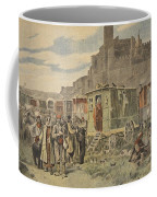 Hungarian Gypsies Outside Carcassonne Coffee Mug